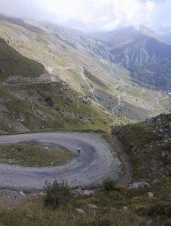 Climbing the Col de Sarenne