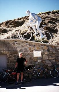 Jerry Nilson at the Tourmalet