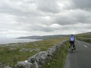 North Along the Coast Through the Burren