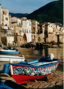 The old fishermen's harbour at Cefalù