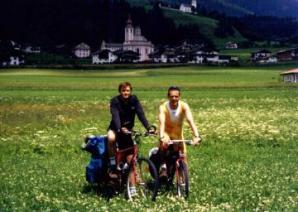 Stefano and Gianluca in Sillian