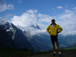 On top of Grosse Scheidegg