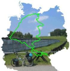 Cycling the former germany border
