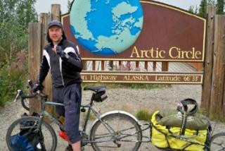 Photo take at the Arctic Circle