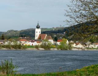 Danube in the spring