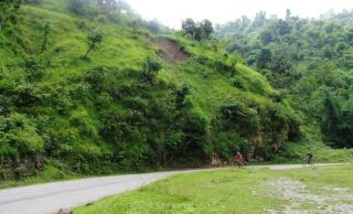 the hills above butwal, en route to tansen