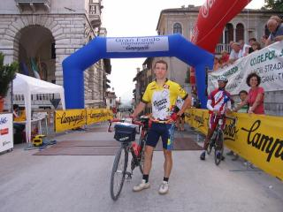 At the Finish of the Granfondo Campagnolo 2006'