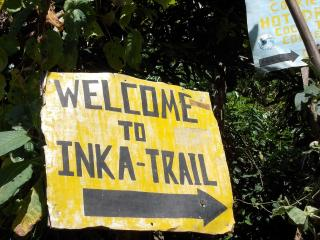 Welcome to the Inca trail