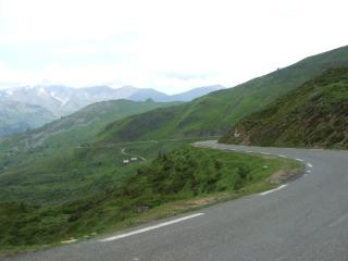 deescending from the Col du Soulor