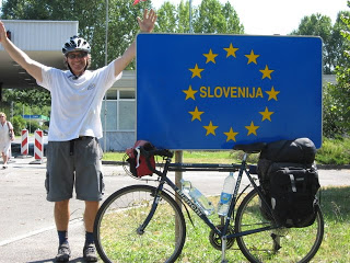Celebrating Arrival To Slovenia