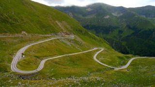 Transfagarsan pass - south side